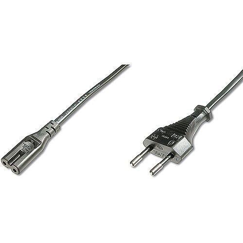 ASSMANN European Mains Connection Cable Eur/M C7/F 1.8m Black AK-440114-018-S