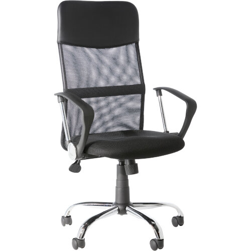 Alphason Office Chair Orlando Black Mesh