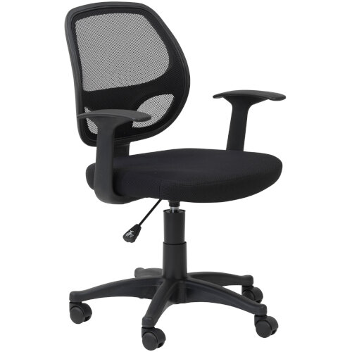 Alphason Office Chair Davis Black Mesh