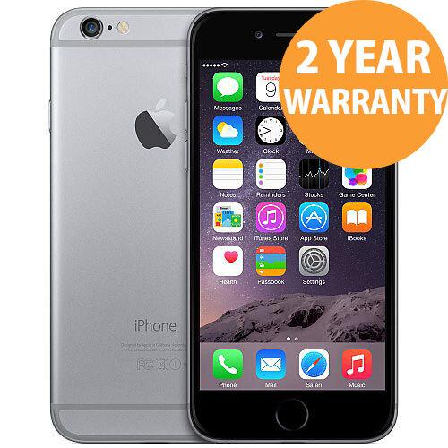 Apple iPhone 6 16GB Space Grey Refurbished Grade AA+ Sim Free