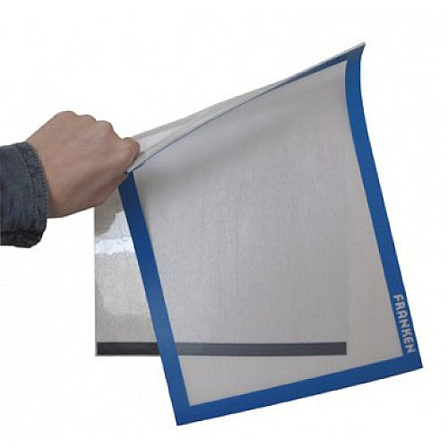 Franken Self-Adhesive Document Holder PRO Blue Pack of 2 AR14032