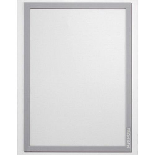 Franken Self-Adhesive Document Holder PRO Silver Pack of 2 AR14132