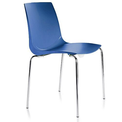 ARI Blue Canteen Stacking Chair