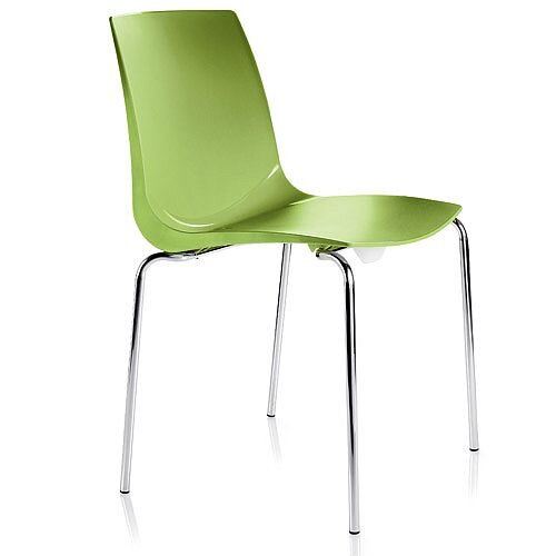 ARI Green Canteen Stacking Chair