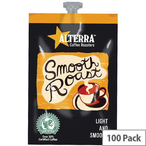 Flavia Alterra Smooth Roast Sachets Pack of 100 NWT357