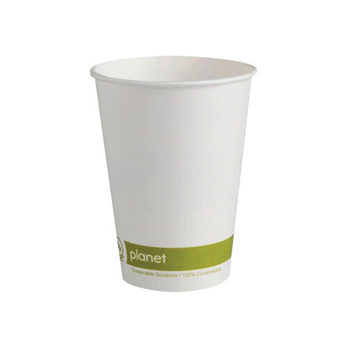 Planet 12oz Single Wall Cups Pack of 50 HHPLASW12