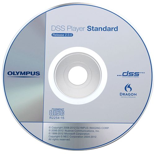 Olympus AS-49 Dictation Software SSD Standard Transcription Module