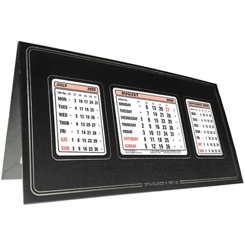 At-a-Glance Refillable Calendar 3 Months to View 2020 3S20