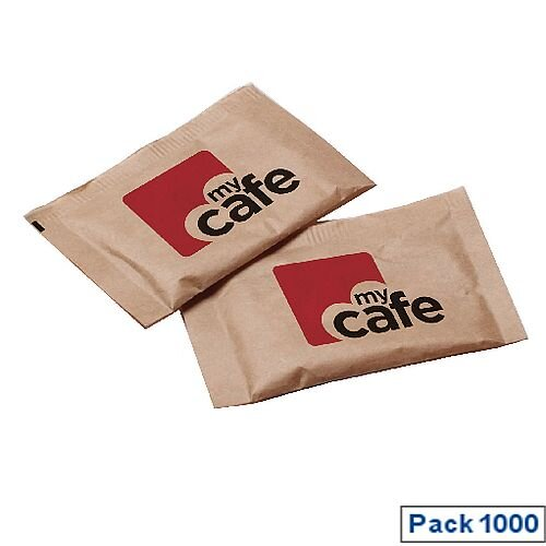 MyCafe Brown Sugar Sachets Pack of 1000 A00890