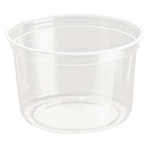 Caterpack Biodegradable rPET DeliGourmet Food Container 16oz Pack of 50 RY10581 / DM16R