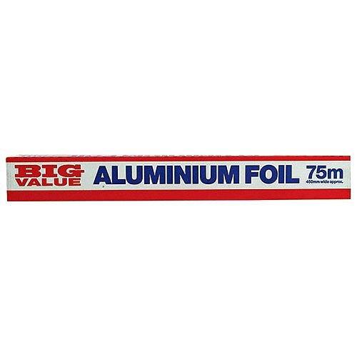 Catering Aluminium Tin Foil 450mm x75m Pack 1 FP211
