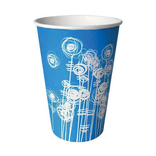 Aqua Swirl 7oz Paper Water Cup Pack of 100