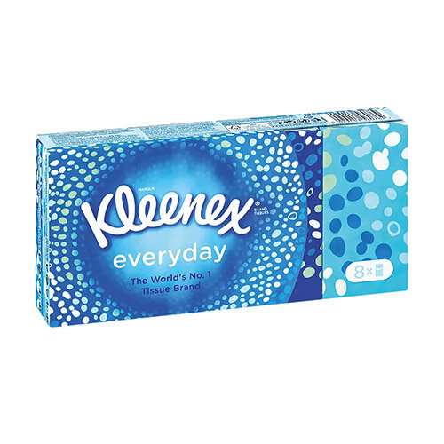 Kleenex Everyday Pocket Tissues Pack of 144 1102136