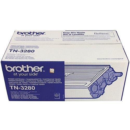 Brother TN-3280 Black High Capacity Toner Cartridge TN3280