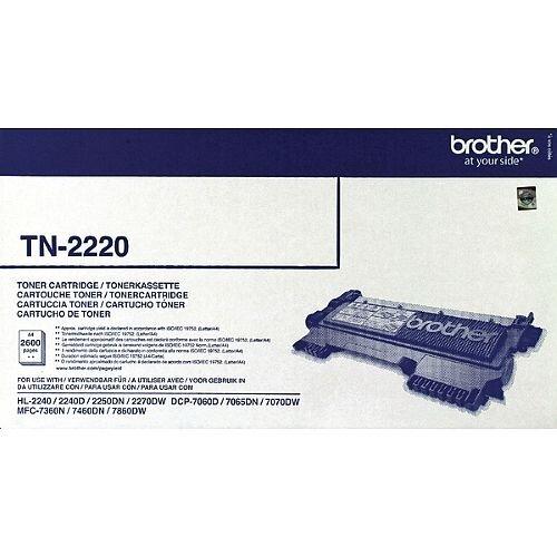 Brother TN-2220 Black Laser Toner Cartridge TN2220