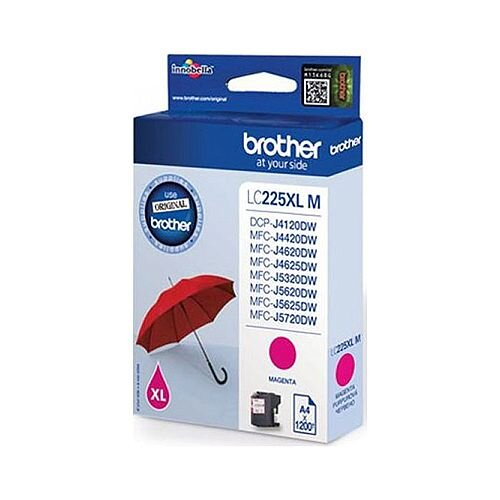 Brother LC225XLM Magenta High Yield Inkjet Cartridge Umbrella