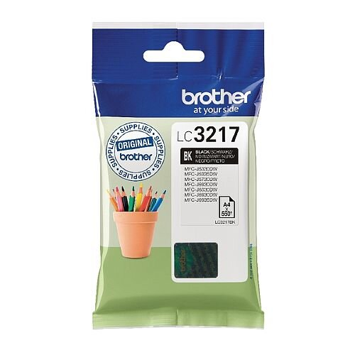 Brother Black Standard Yield Inkjet Cartridge LC3217BK