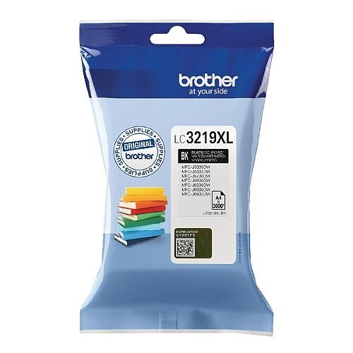 Brother Black High Yield Inkjet Cartridge LC3219XLBK