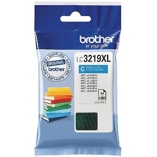 Brother Cyan High Yield Inkjet Cartridge LC3219XLC