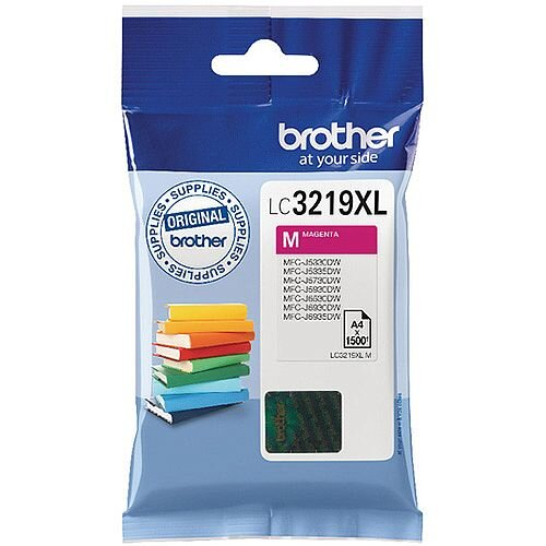 Brother Magenta High Yield Inkjet Cartridge LC3219XLM