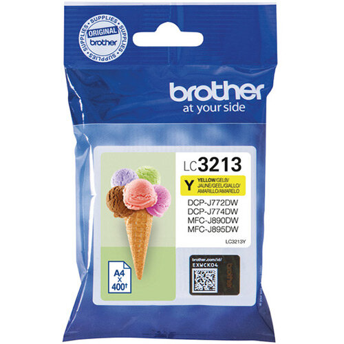Brother Ink Cartridge High Yield Yellow LC3213Y