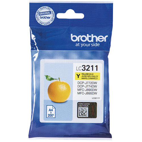 Brother Ink Cartridge Yellow LC3211Y