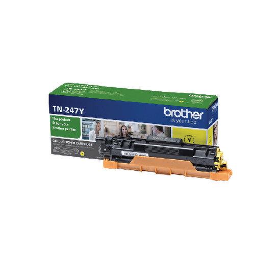Brother TN-247Y High Yield Yellow Toner Cartridge TN247Y
