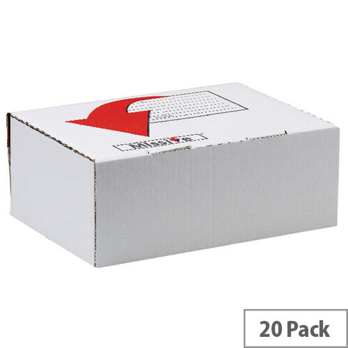 Missive Value Shoe/Boot Mailing Boxes 245x345x157mm Pack of 20