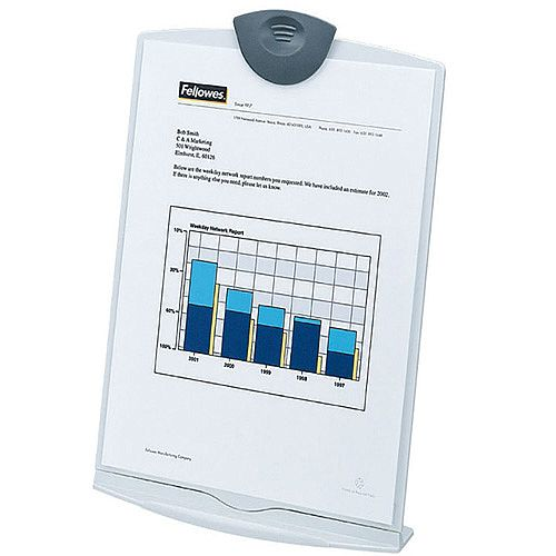 Fellowes Copyholder Stand A4 Dove Grey