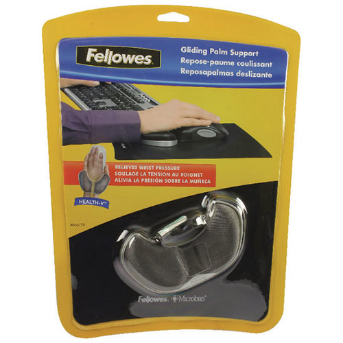Fellowes Fabrik Palm Support Graphite 9180101