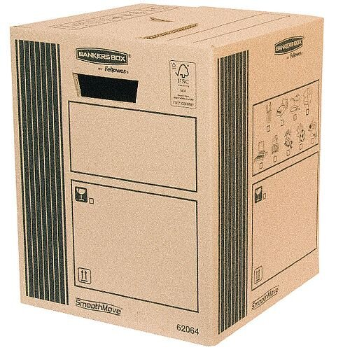 Classic Double Wall Packing Cardboard Boxes 300x300x370mm (Pack of 10)