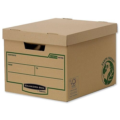 Fellowes Bankers Box Earth Series Heavy Duty Standard Box Pack 30 Special Offer 30 Boxes For the Price of 20!