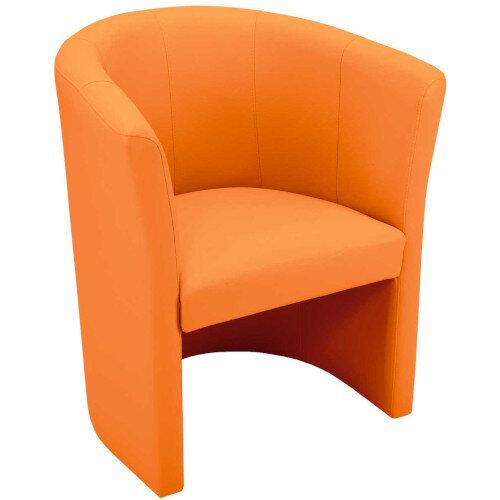Classic Tub Chair - Orange