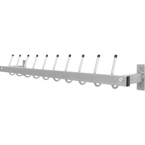Safe Wall Hanger - Ideal for Classrooms - Durable Metal Material - Mounting Elements Included - Colour: Grey