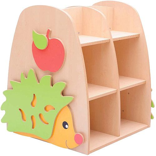 Hedgehog Double Sided Bookcase Beech