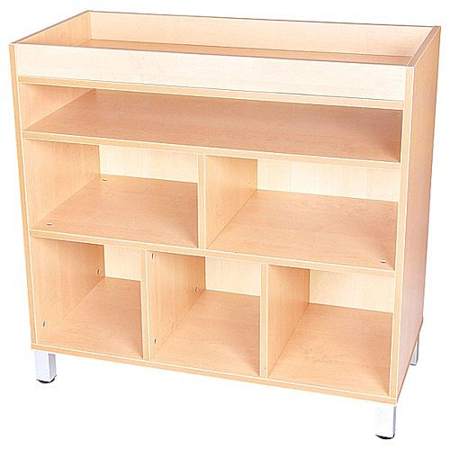Arts and Crafts Cabinet with Legs Beech