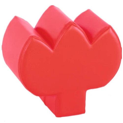 Tulip - Soft Seat - Safe Playground - Durable Vinyl &Foam Materials - Dimensions: L36 xH 22cm