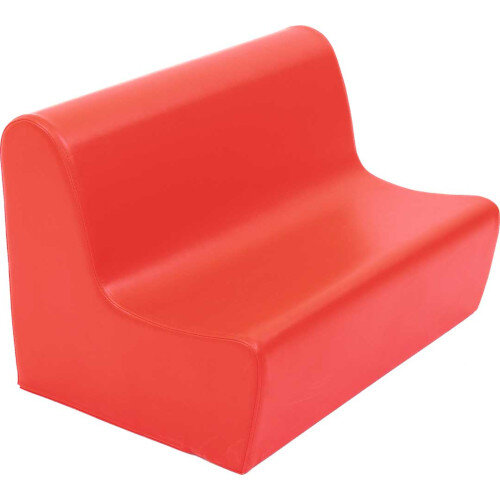 Big Sofa Seat Height 34cm Red