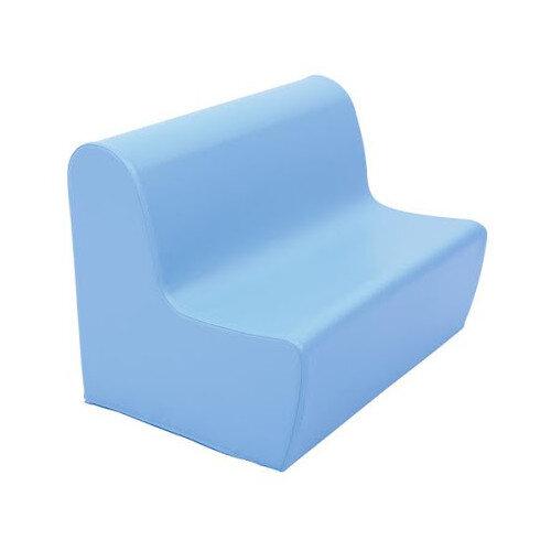 Big Sofa Seat Height 34cm Light Blue