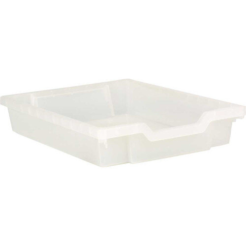 Shallow Container Clear 75mm Deep