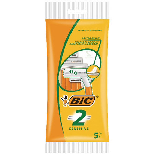 Bic 2 Sensitive Shavers Pack of 100 838528