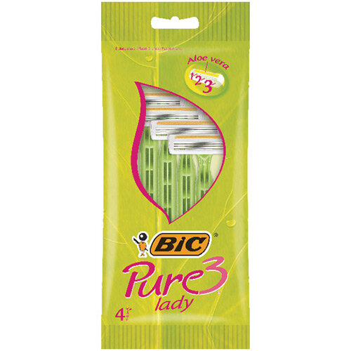Bic Pure 3 Lady Shavers Pack of 40 872900
