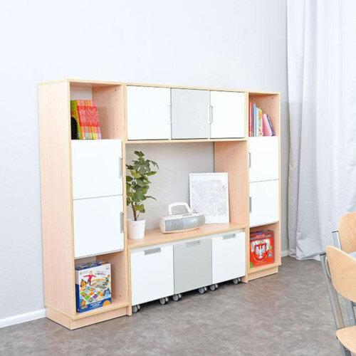 Quadro - Furniture Set 81 Maple &White