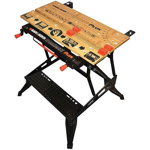 Workmate Dual Height Portable Deluxe Workbench