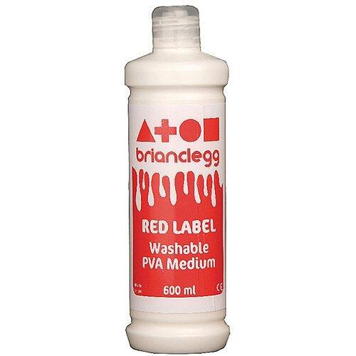 Brian Clegg PVA Glue Red Label 600ml GL600R