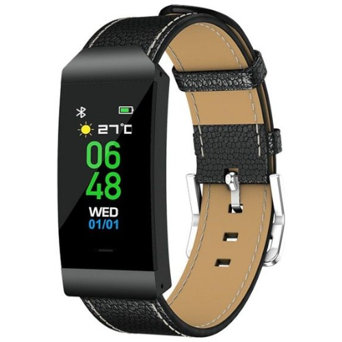 Denver BFH-250 Fitnessband - Bluetooth 4.0 - Sleep, Activity, Steps, Distance, Calories Tracking - 10 Days Battery - Android &iPhone Compatible - Black