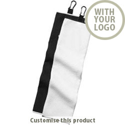 Wilson Staff Microfiber Tri-fold Golf Towel 161298 - Customise with your brand, logo or promo text