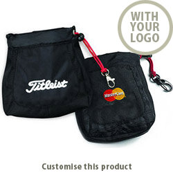 Titleist Valuables Pouch - Embroidered 185936 - Customise with your brand, logo or promo text