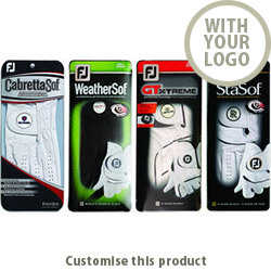 FJ StaSof Golf Glove with ball marker 185947 - Customise with your brand, logo or promo text