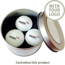 Napoli Three Ball Tin 187628 - Customise with your brand, logo or promo text